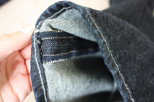Petite Jean Alterations Regular vs Original Hem
