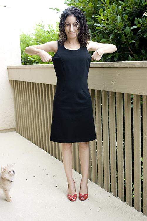 Petite Henrietta Pertuz Dress