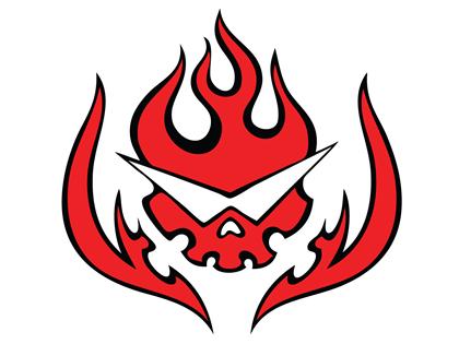 15107-gurren_lagann-logo-skull-vector