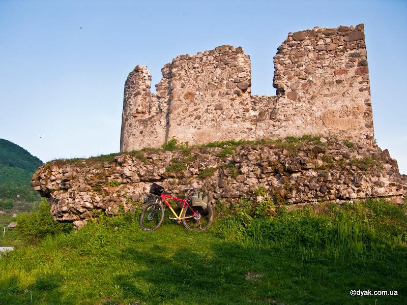 Замок у Виноградові