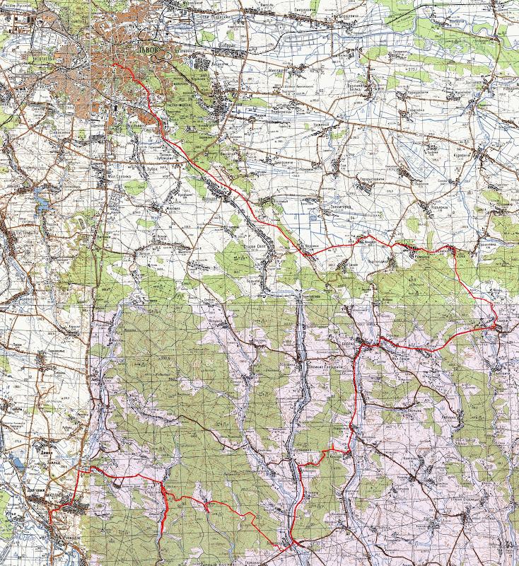 Мапа маршруту