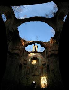Годовиця, панорама церкви