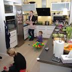 Leg og madlavning i køkkenet