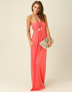 strapless-maxi-dress-watermelon