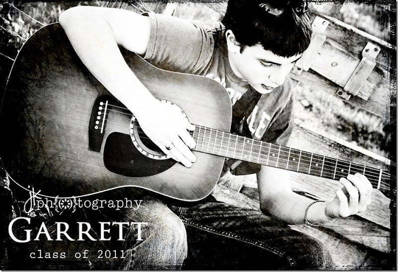 Garrett class of2011 weblogo