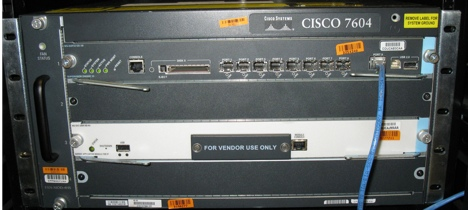 Cisco 7604 with Sup32 and SAMI card