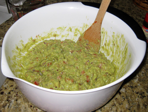 Alton Brown Food Network Guacamole
