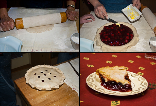 Cherry Pie Process