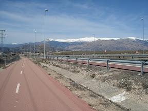 Al puerto de la Morcuera en bici