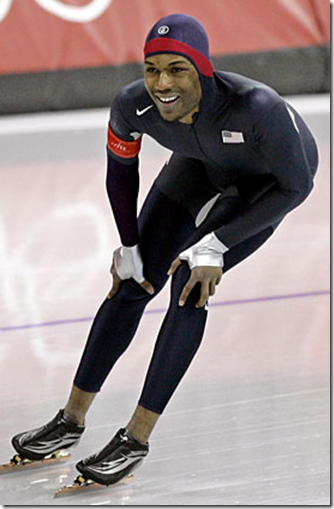 Toothing Blog: Shani Davis Speedskater Pairs Up with Chad ...