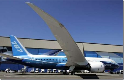 Dreamliner Boeing Dreamliner 787 First Flight