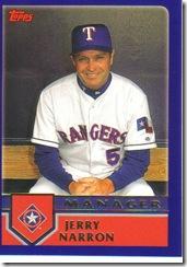 Card 4 Jerry Narron