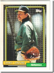 Carney Lansford Mustache
