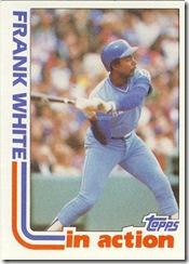 Frank White Topps 82