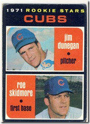 Topps 71 Cubs Rookie