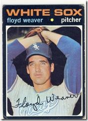 Topps 71 Floyd Weaver