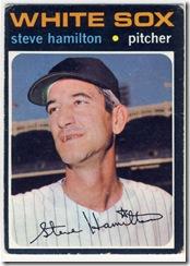 Topps 71 Steve Hamilton