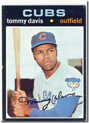 Topps 71 Tommy Davis