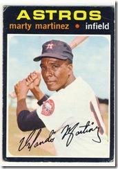 Topps 71 Marty Martinez