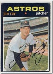 Topps 71 Jim Ray