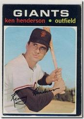 1971 155 Ken Henderson