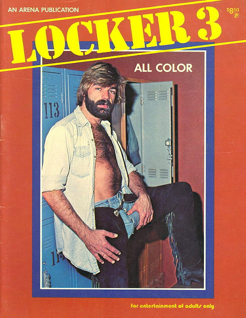 bob blount on the cover of the magazine shirt open to reveal his hairy chest