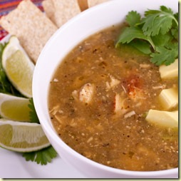 Andreas Recipes Roasted tomatillo soup with chicken1
