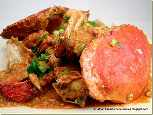 Sweet-Sour Chilli Dungeness Crab