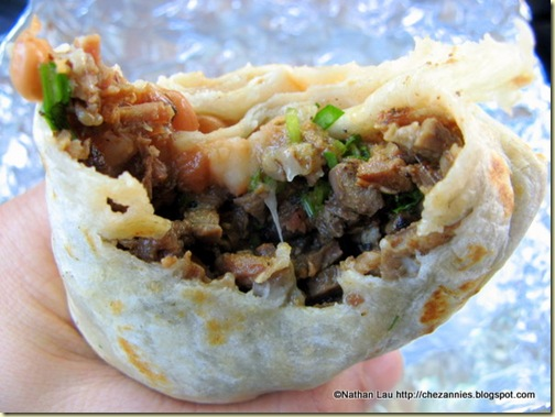 Carne Asada Burrito from El Paisa Taqueria in San Jose