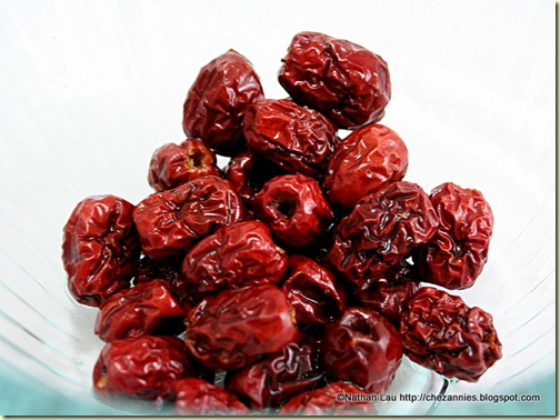Chinese Dried Dates for Soup