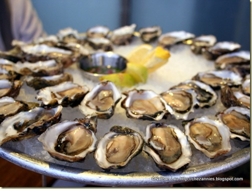 Platter of Oysters at Hog Island Oyster Bar (San Francisco)