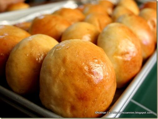 Homemade Baked Char Siu Bao