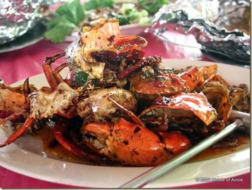 chili mud crab
