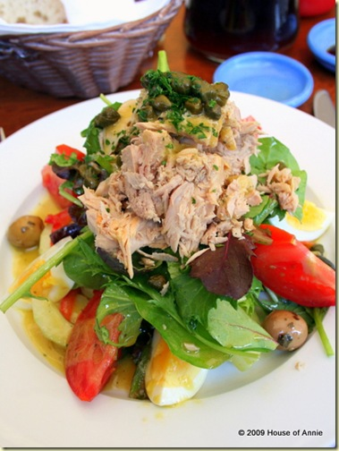 Salad Nicoise from Bistro Moulin