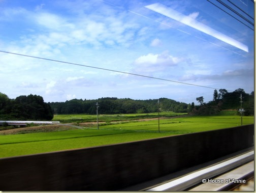 train ride from narita to yokohama japan