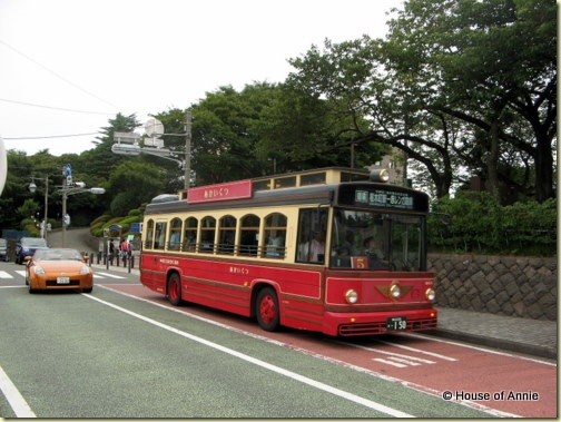yokohama city tour bus