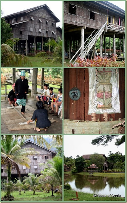 Sarawak Cultural Village Melanau house