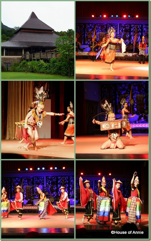 Sarawak Cultural Village performances