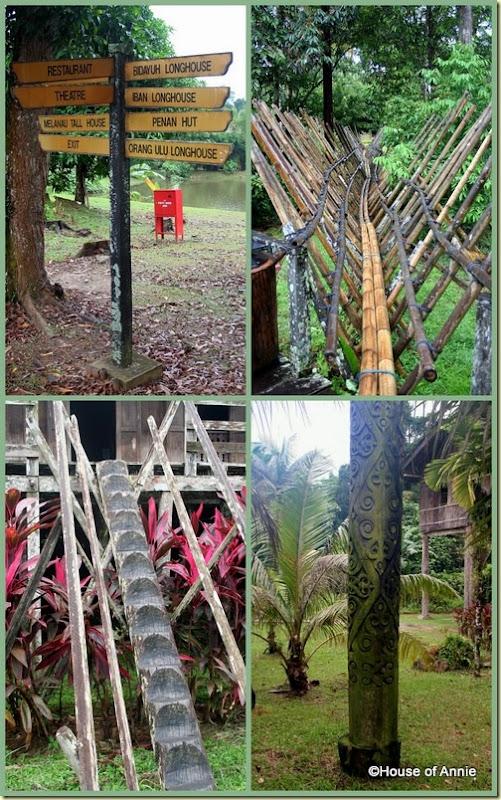 Sarawak Cultural Village grounds