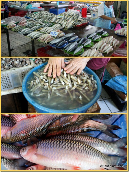 Sibu Central Market Fish and Seafood