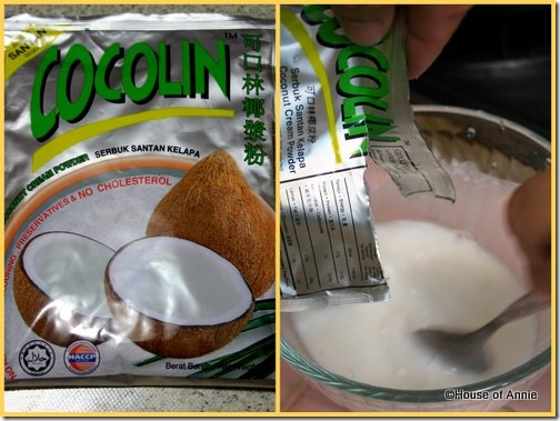 cocolin coconut cream powder