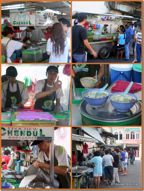 Penang Rd Cendol collage