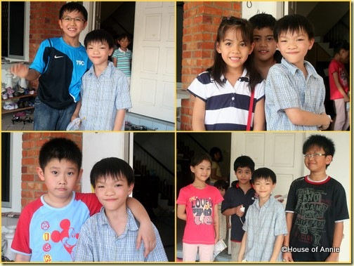 Daniel 9th Birthday Party schoolmates