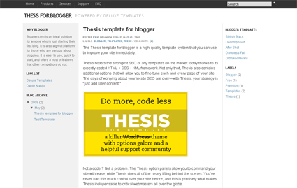 blog design for thesis Thesis designer guide is the fastest way to learn thesis framework and guides for thesis theme customizationthesis theme ebook covers all the css, php and html coding basics and tools needed to become a thesis design expert.