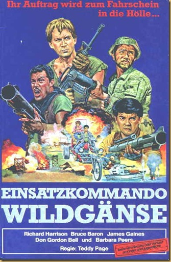 Commandos WildGeese_poster