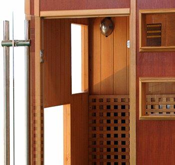 Sauna traditionnel sauna infrarouge mobilier canape deco - Sauna traditionnel ou infrarouge ...