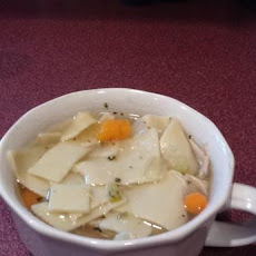 Cindy's Cooking Light Chicken Noodle Soup