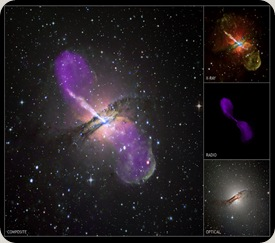 FORAT NEGRE CENTRAL A Centaurus A is a giant elliptical galaxy - the closest active galaxy to Earth