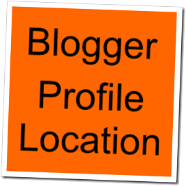 Blogger Profile Location