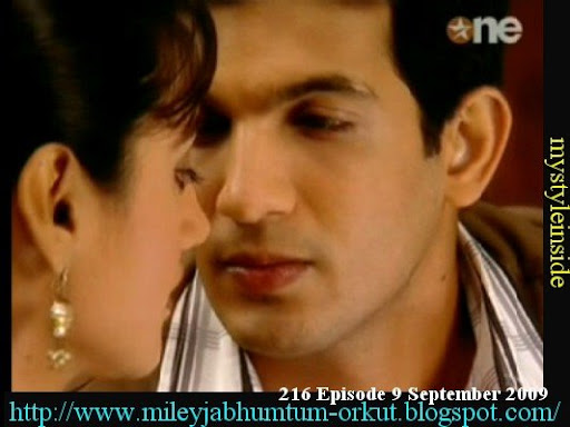 mayank nupur kiss miley jab hum tum wallpapers